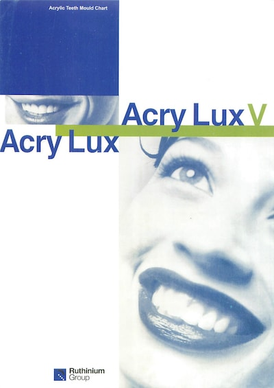 Cover of Acry Lux prep guide available at Continental Dental Labs